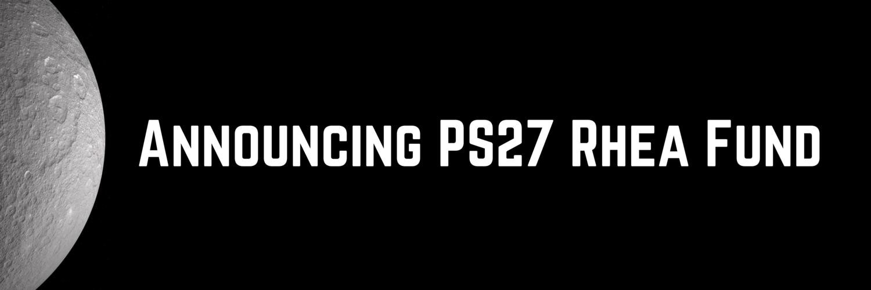 PS27 Ventures Launches Twenty Million Dollar Fund